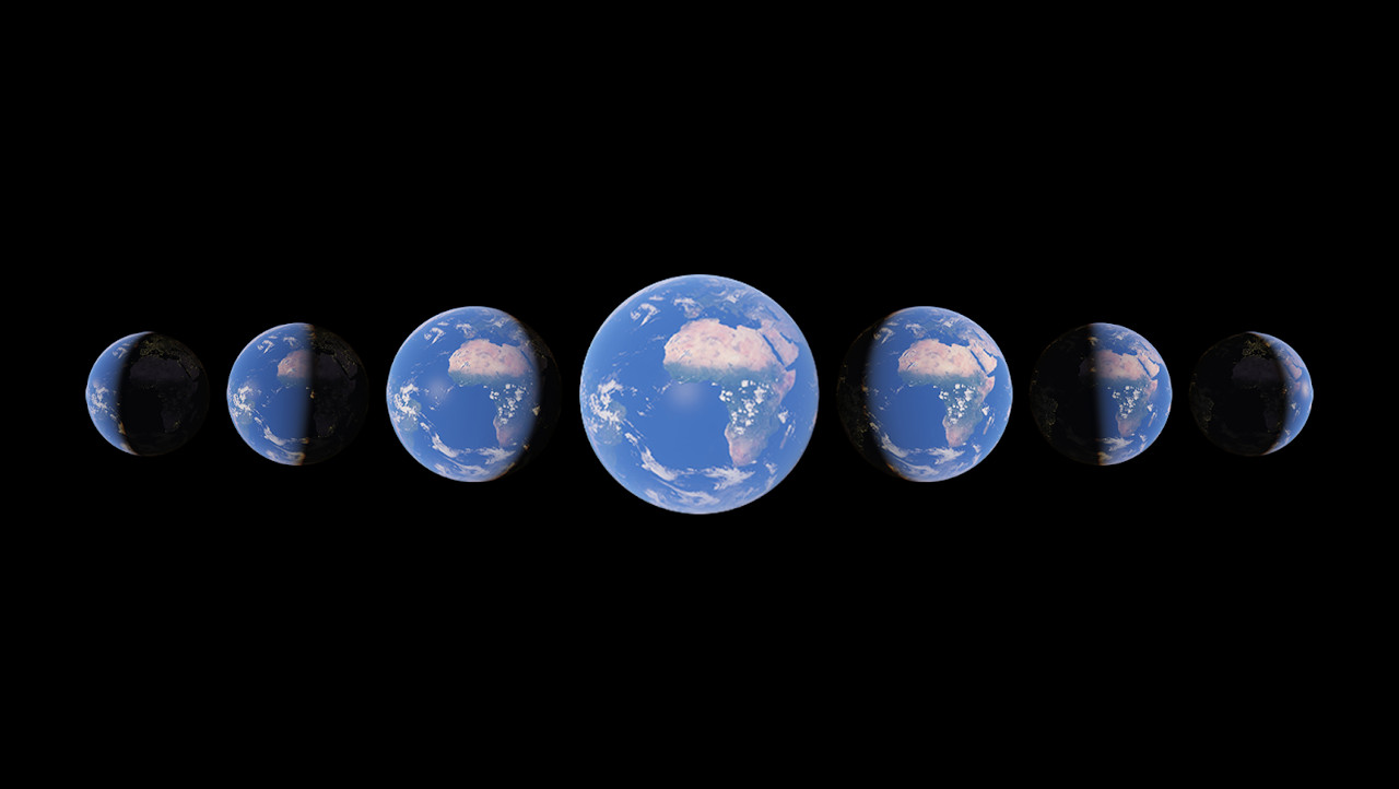 Timelapse Google Earth