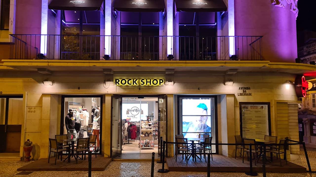 Hard Rock Cafe Lisboa esplanada