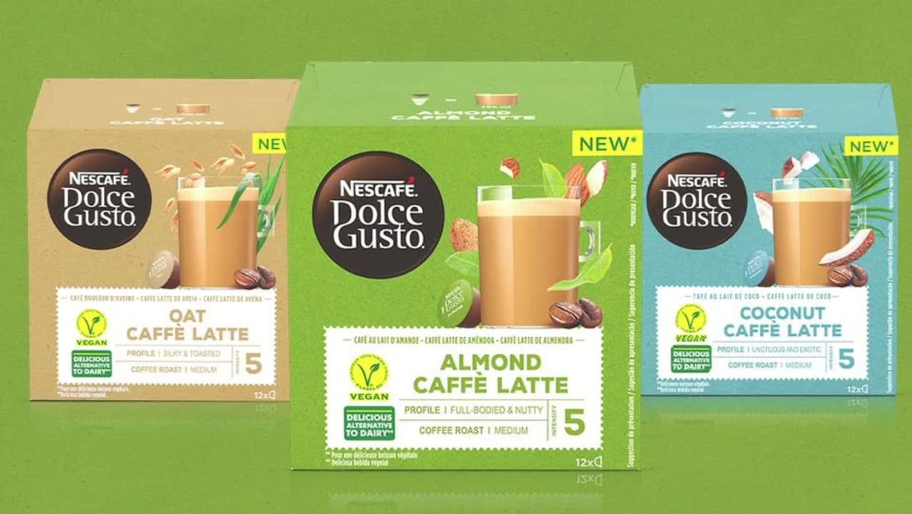 Nescafé Dolce Gusto Vegan