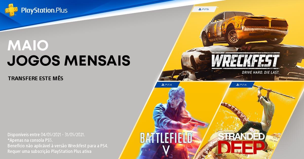 Wreckfest PlayStation Plus