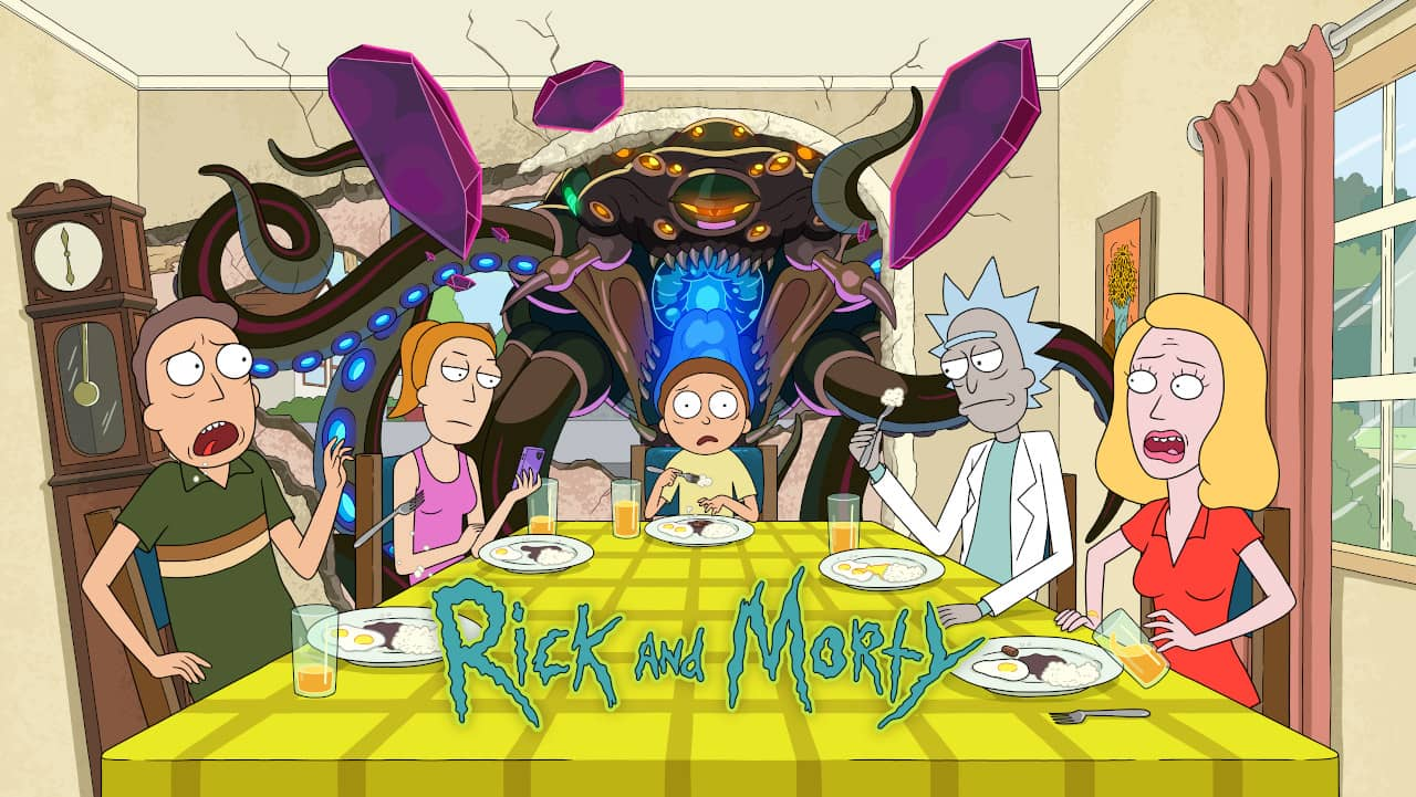 Rick and Morty HBO Portugal