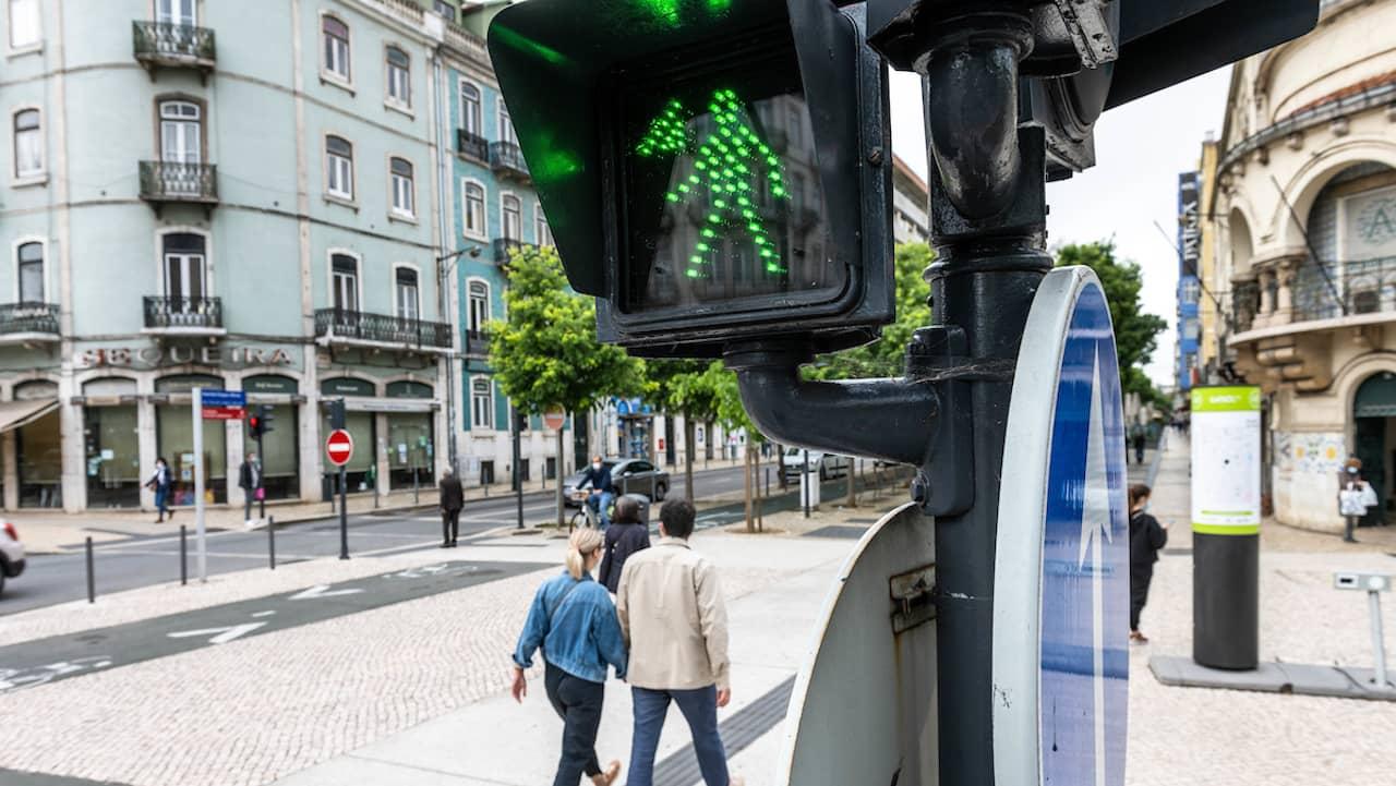 semáforos daltónicos Lisboa