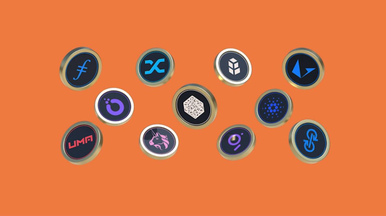 tokens de criptomoedas