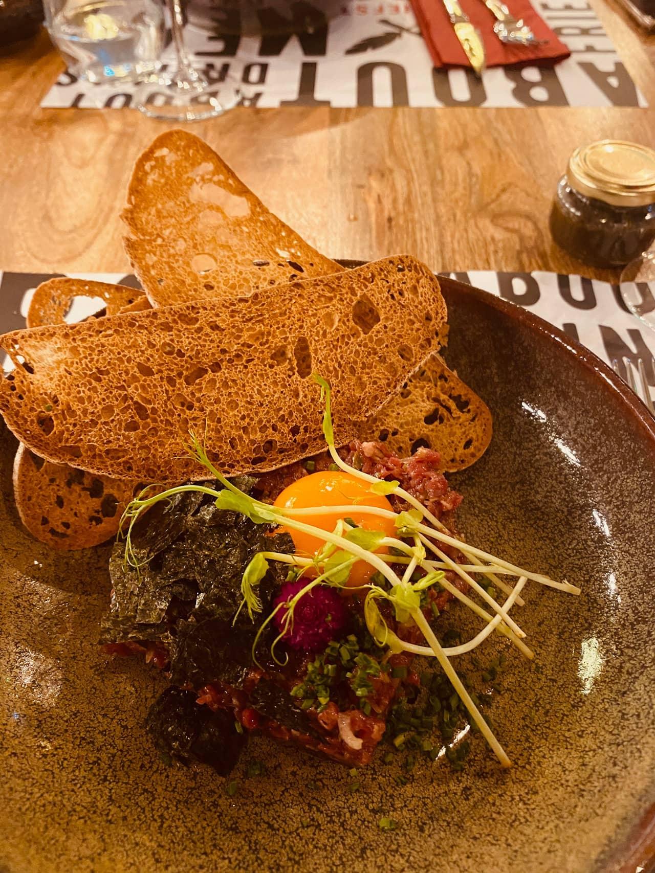 chef stories carpaccio