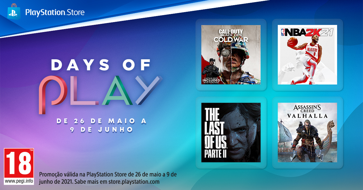 days of play 21 1