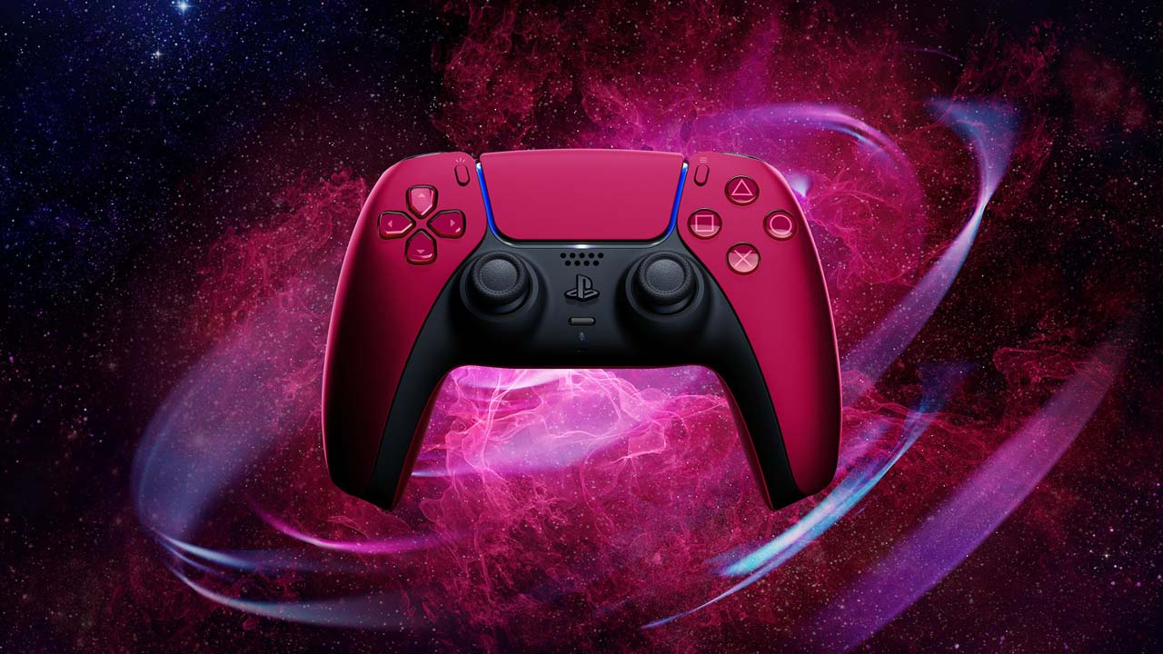dualsense cosmic red