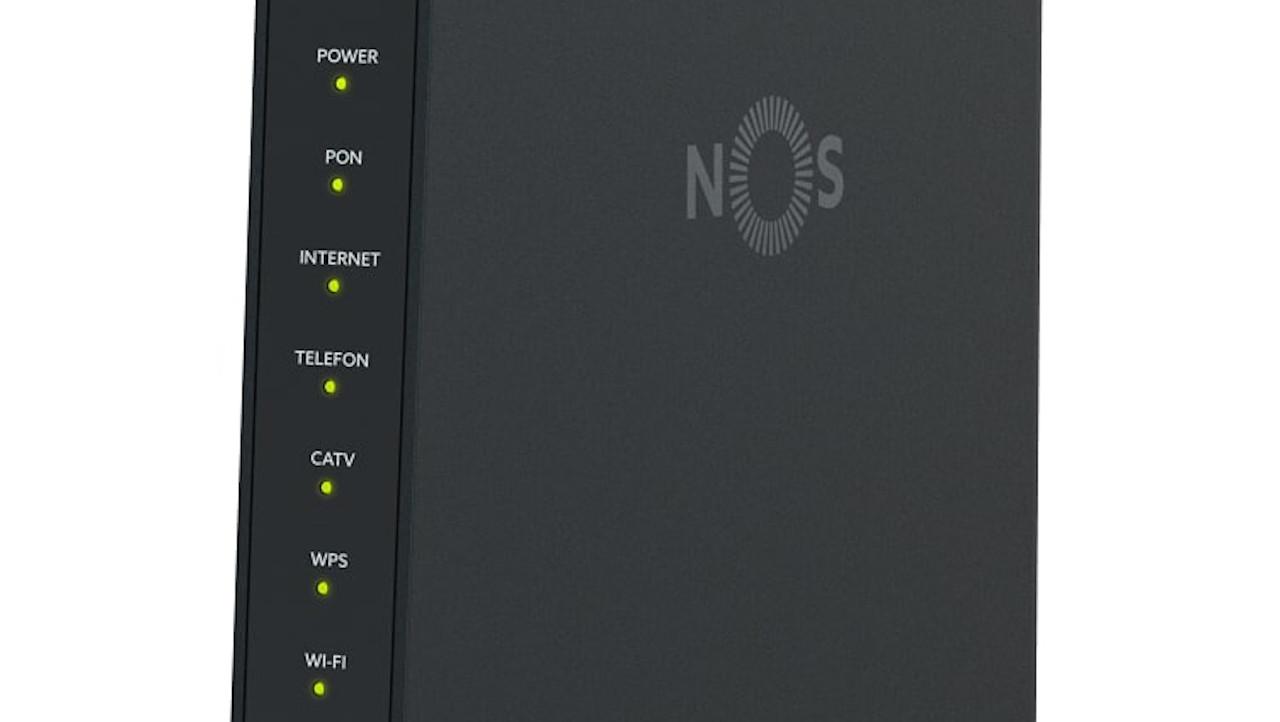 Giga-Router Wi-Fi 6 da NOS