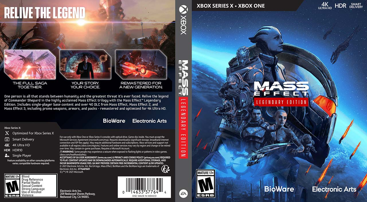 Mass Effect Legendary Edition desempenho