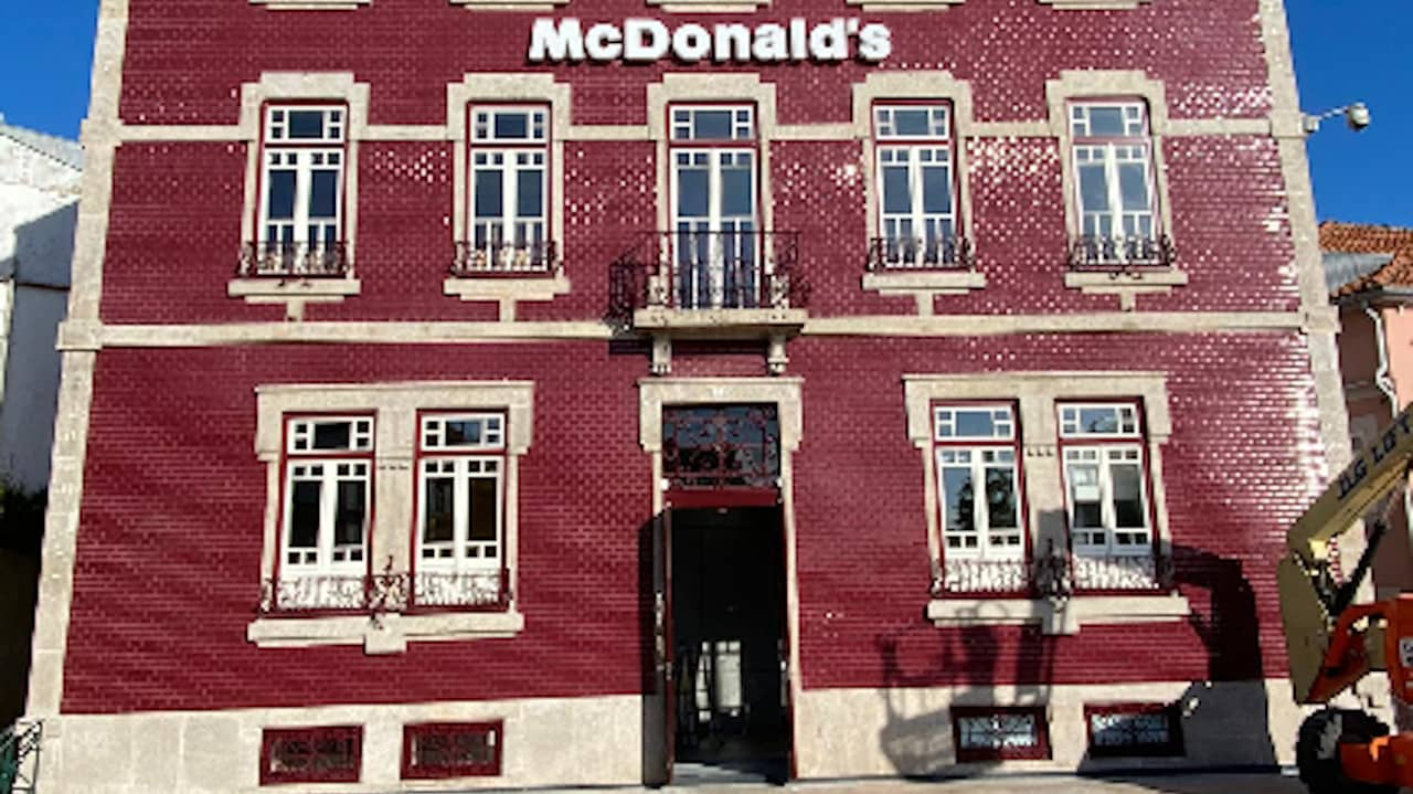 McDonald's na Ribeira do Porto