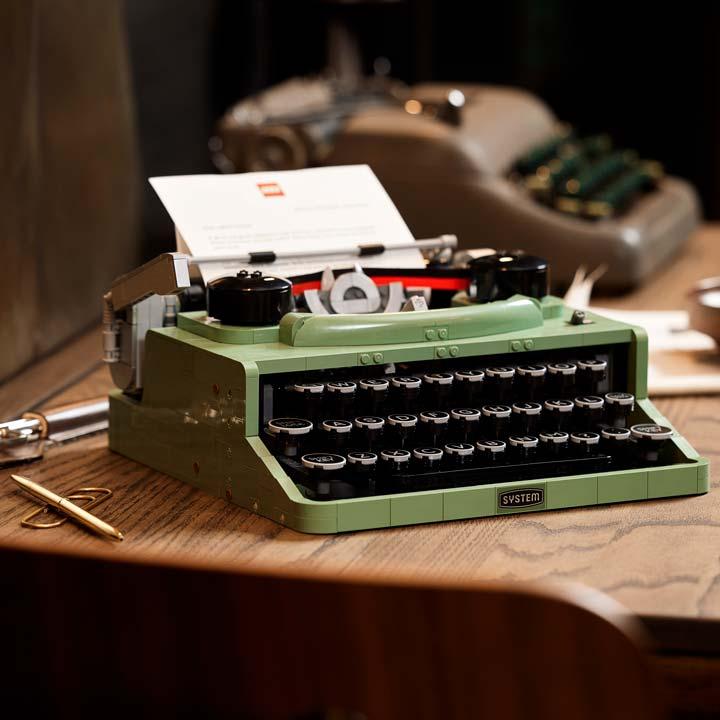 lego ideas maquina de escrever 0