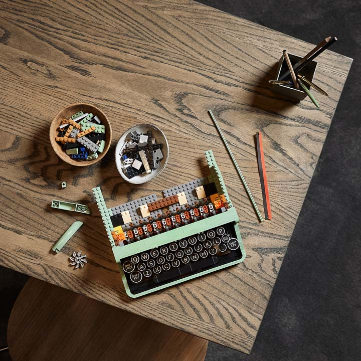 lego ideas maquina de escrever 2