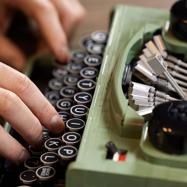 lego ideas maquina de escrever 3