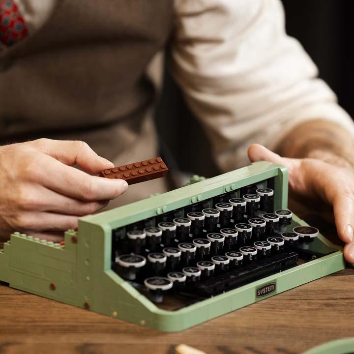 lego ideas maquina de escrever 6