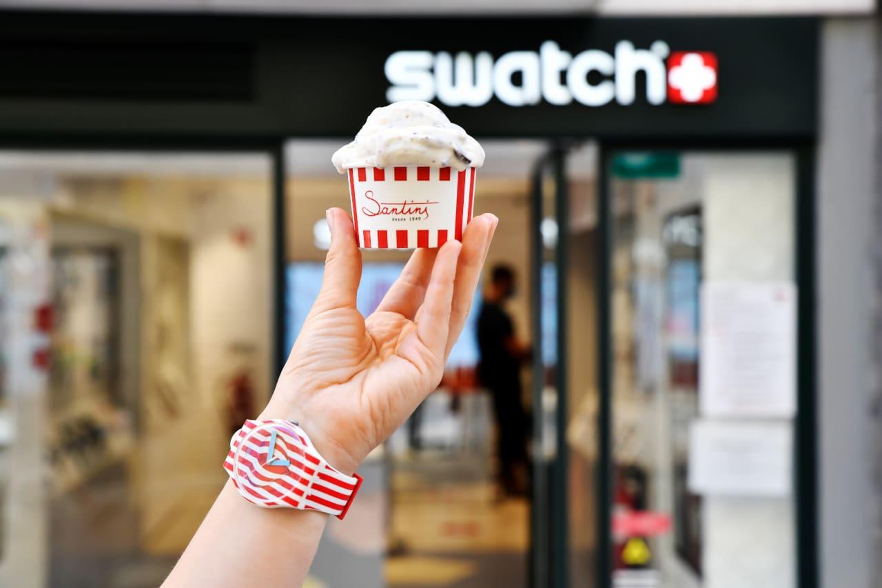 gelado swatch santini