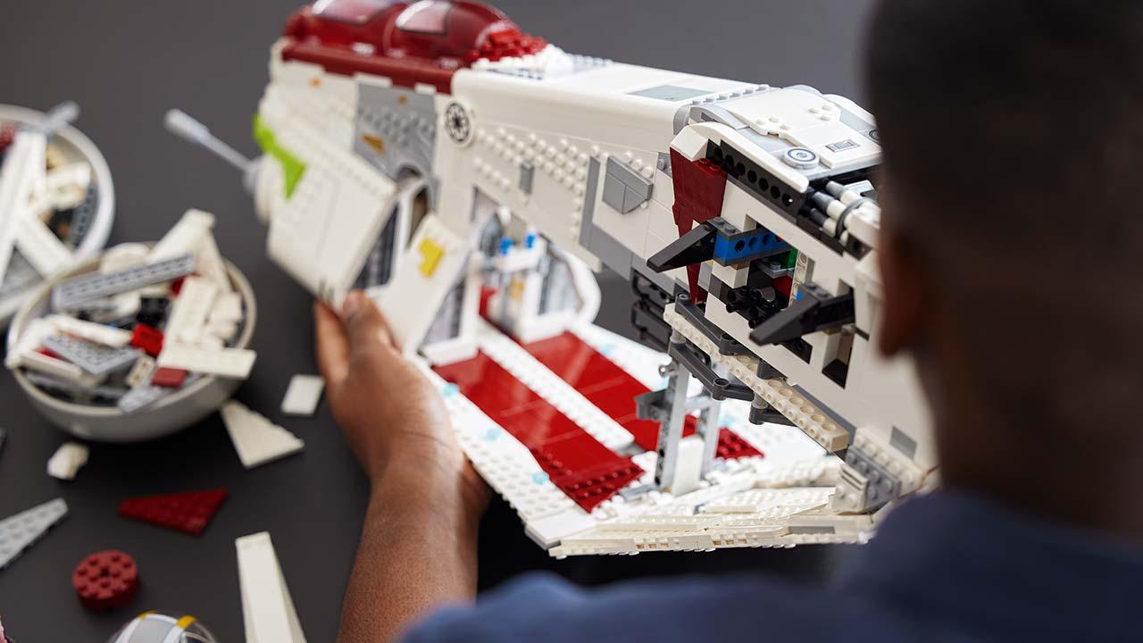 lego star wars republic ship 2