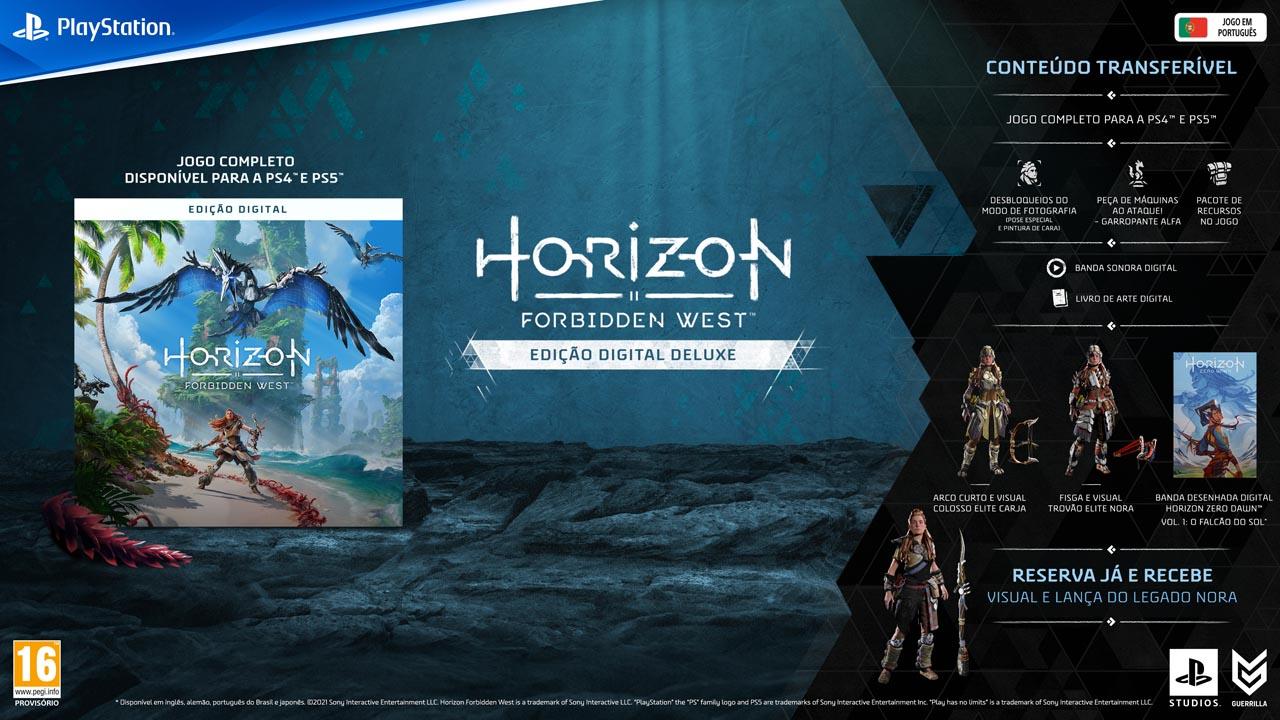 horizon forbidden west edicoes3