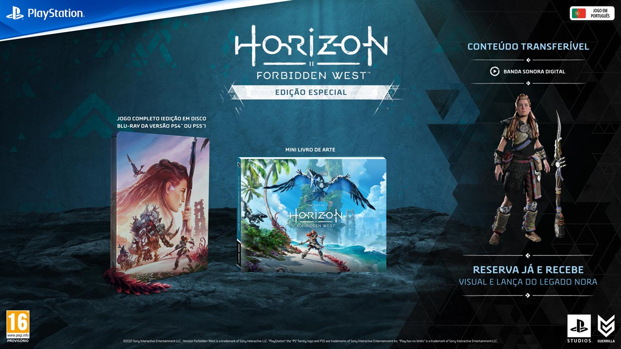 horizon forbidden west edicoes4