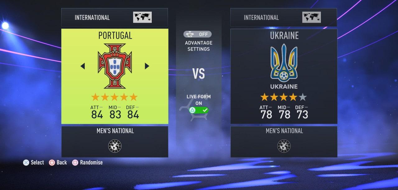 FIFA 22 Seleção Nacional