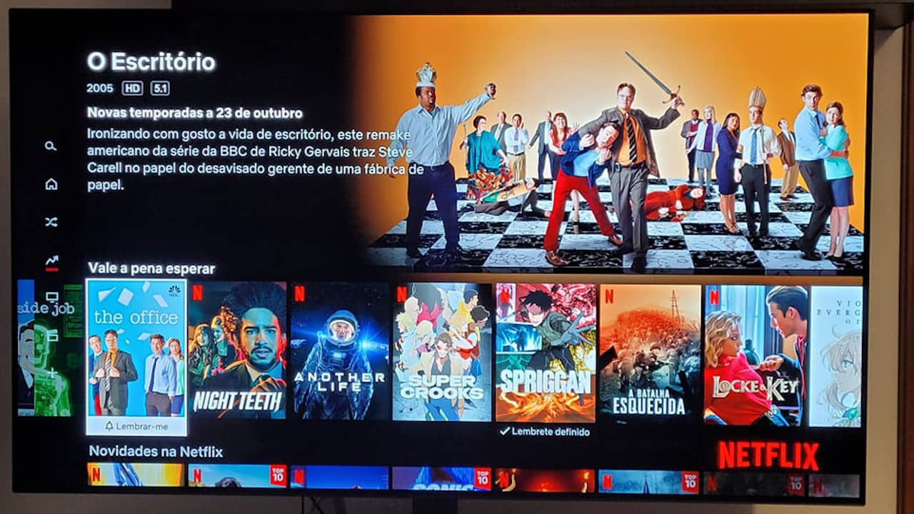 The Office US Netflix Portugal