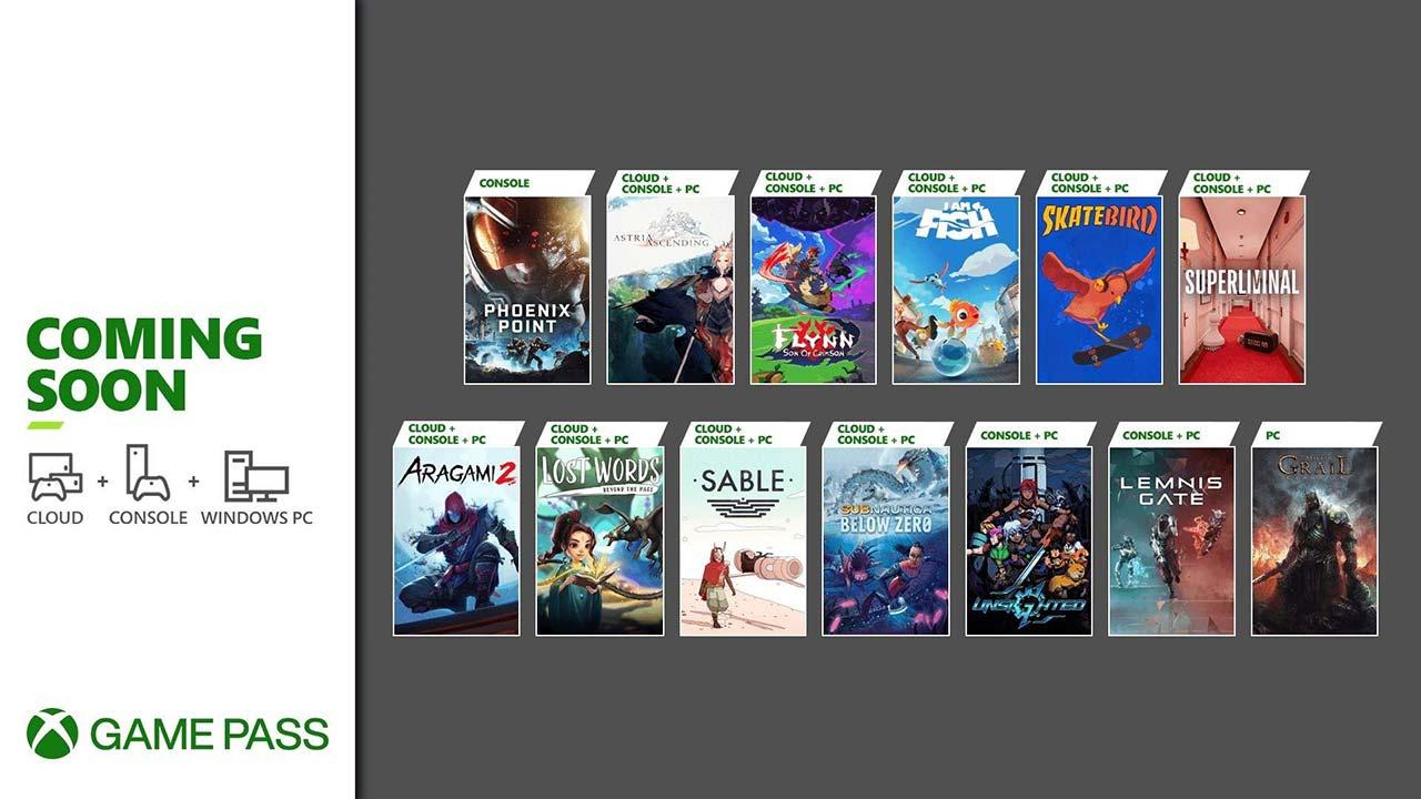 Xbox Game Pass setembro 2021