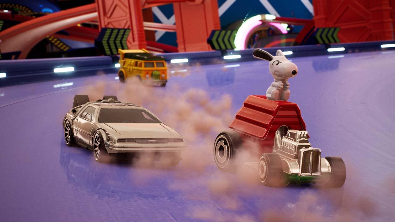 hot wheels unleashed echo boomer 8