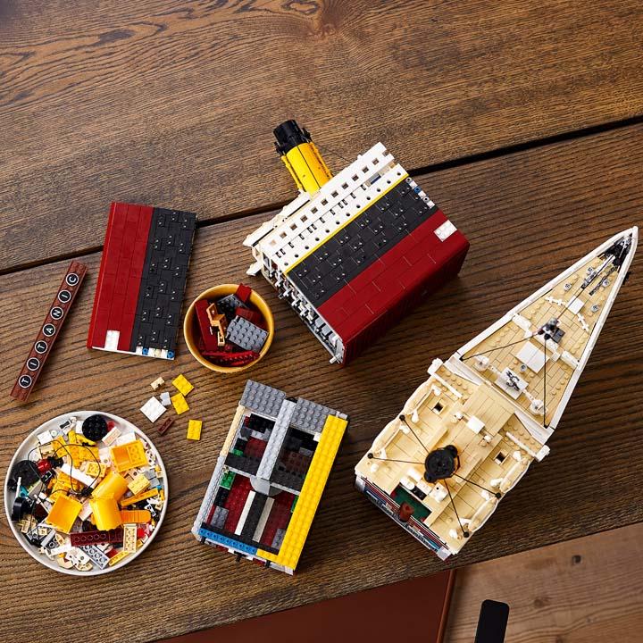 lego titanic 9
